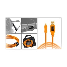 Tether Tools Starter Tethering Kit with USB 2.0 Micro-B 8-Pin Cable - Orange