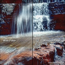 """Tiffen 6.6 x 6.6"""" Neutral Density (ND) 1.2 ColorCore Glass Filter"""