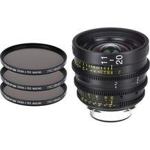 Tokina Cinema 11-20mm T2.9 Lens (MFT Mount) & 3x 86mm IRND Filters Kit