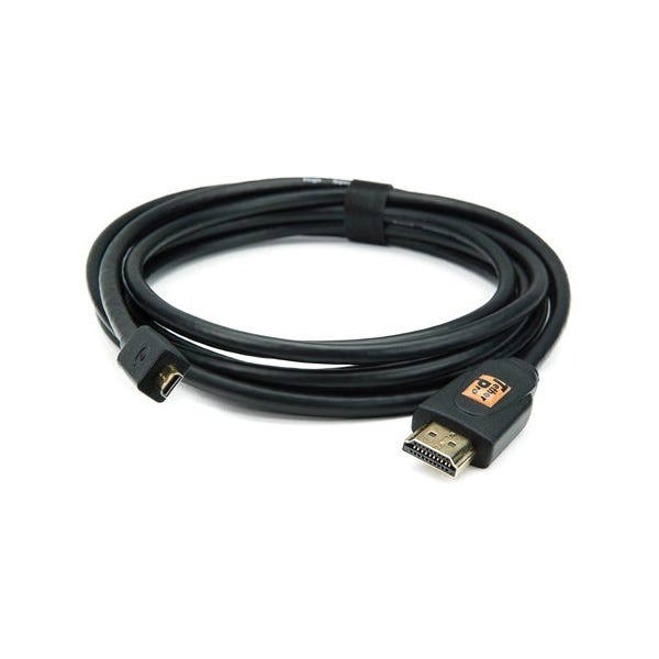 Tether Tools 10' TetherPro Micro-HDMI to HDMI Cable