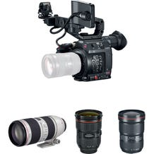Canon EOS C200 EF Camera w/ Triple Lens Kit