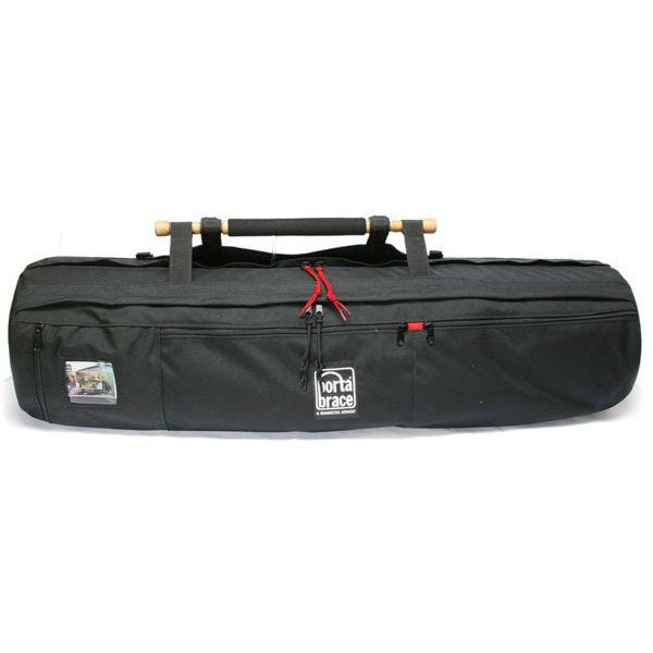 """Porta Brace Padded Tripod Shell Case for Tripods up to 38"""" Long with Leg Diameters less than 12"""" - Black"""
