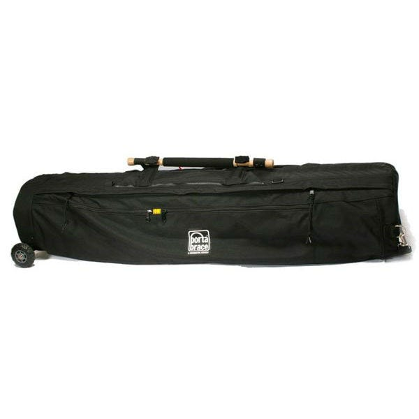 """Porta Brace Tripod Shellpack with Wheels for Tripods up to 46"""" Long with Leg Diameters less than 12"""" - Black"""