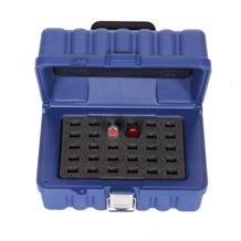 Turtle Data Flash/USB 30 Capacity Case - Blue