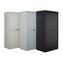 """Turtle Data 72"""" High Cabinet - with 12 MultiMedia Shelves"""