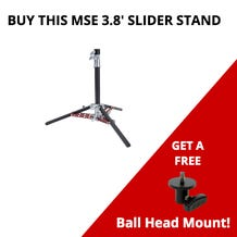 Matthews Studio Equipment 3.8' Slider Stand