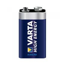 """Varta 9V Extra Longlife Alkaline """"Titanium"""" Batteries (20 Pack)"""