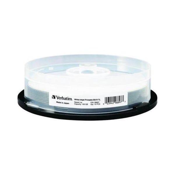 Verbatim 4X White Inkjet Printable 100GB BD-R - 10pc