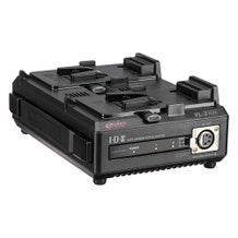 IDX System Technology VL-2 Endura-type Lithium-Ion Battery Charger, 2-Channel Sequential Charging, w/ 60-Watt Power Supply