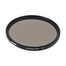 Tiffen 55mm Water White Glass NATural IRND 2.1 Filter - 7 Stop