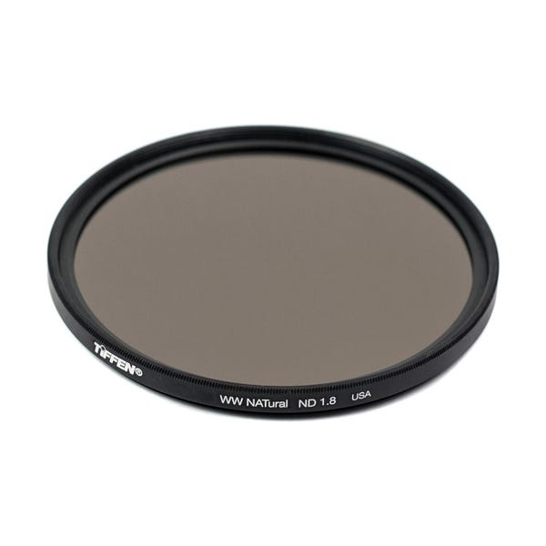 Tiffen 58mm Water White Glass NATural IRND 1.8 Filter - 6 Stop
