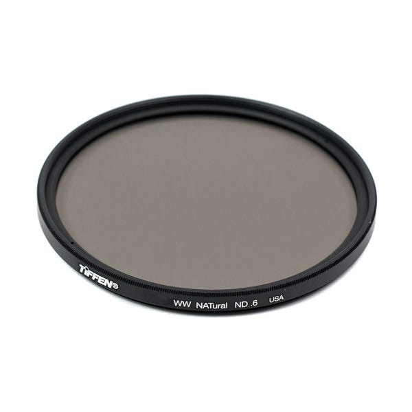 Tiffen 58mm Water White Glass NATural IRND 0.6 Filter - 2 Stop