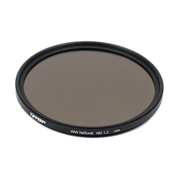 Tiffen 67mm Water White Glass NATural IRND 1.2 Filter - 4 Stop