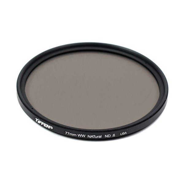 Tiffen 77mm Water White Glass NATural IRND 0.6 Filter - 2 Stop