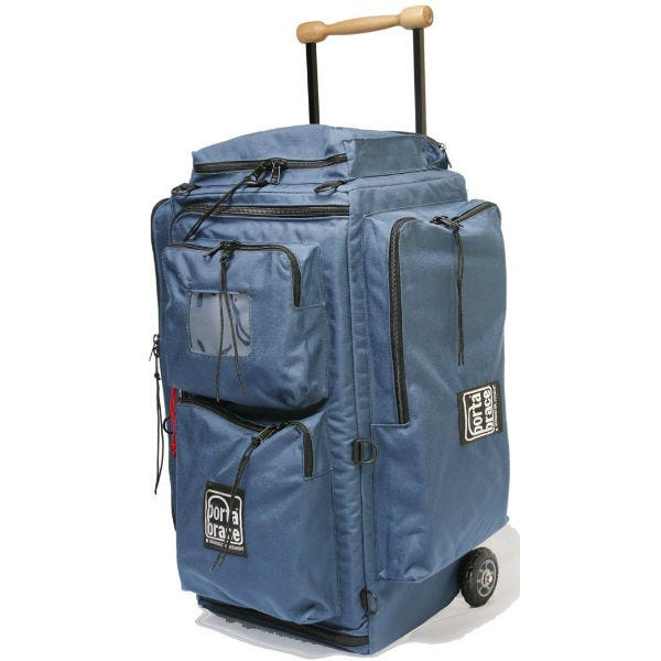 Porta Brace Wheeled Production Case - Medium, Signature Blue