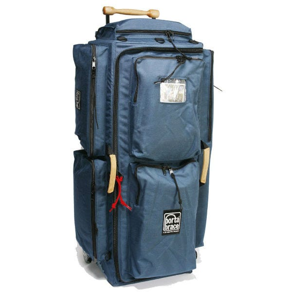 Porta Brace Wheeled Production Case - Large, Signature Blue
