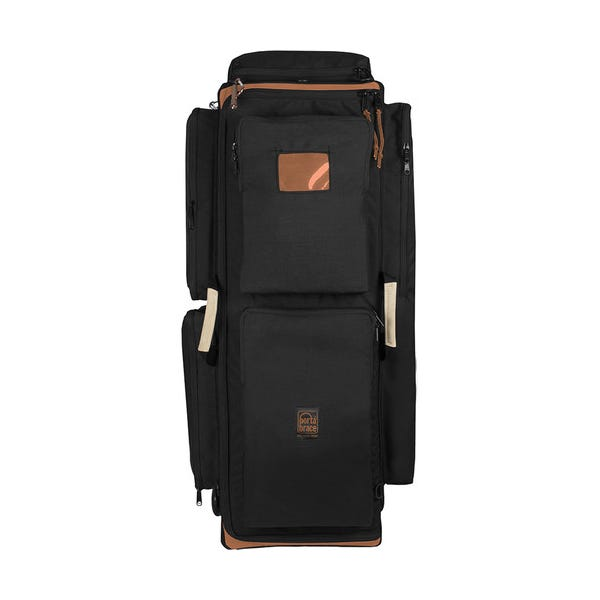 Porta Brace Wheeled Production Case - Large, Midnight Black