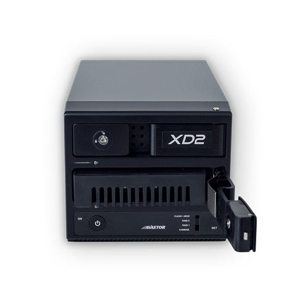 Avastor XD2 Trayless RAID Pro 2-Bay Desktop Drive (Various Memory Capacities)