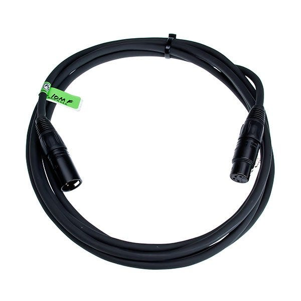 Bescor 4-Pin XLR Female to 4-Pin XLR Male 5' Cable XLR-5MF