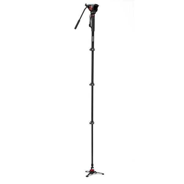 Manfrotto XPRO Video Monopod Plus with MVH500AH Fluid Video Head