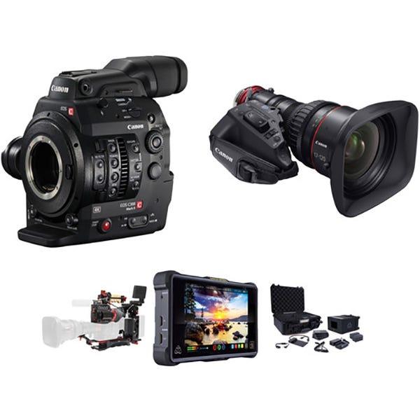 Canon Cinema EOS C300 Mark II EF Mount Zacuto ENG Package