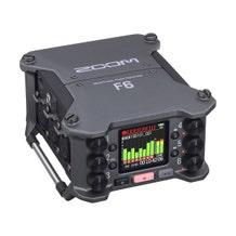 Zoom F6 6-Input/14-Track Multi-Track Field Recorder