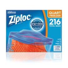 Ziploc Double Zipper Freezer Bag - 216 Count