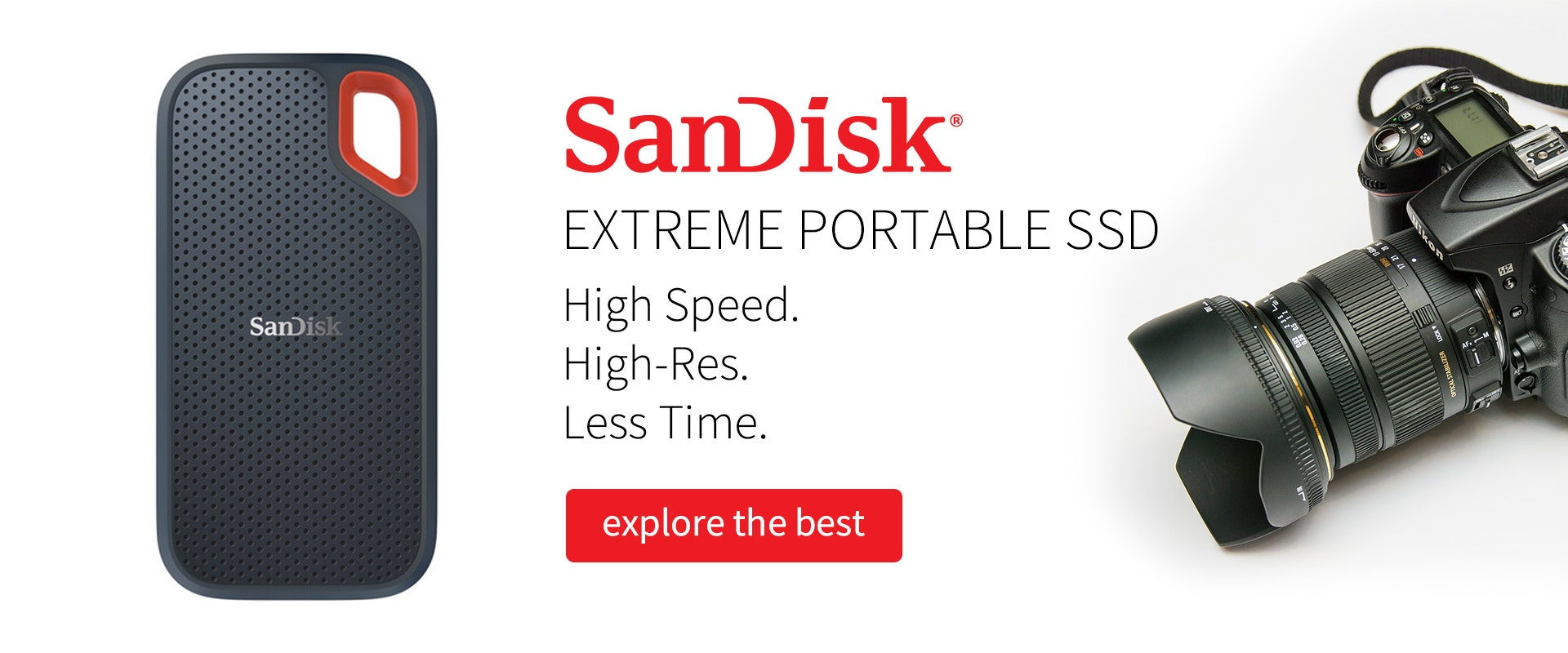 SanDisk providing one of the best storage solutions for filmmakers.