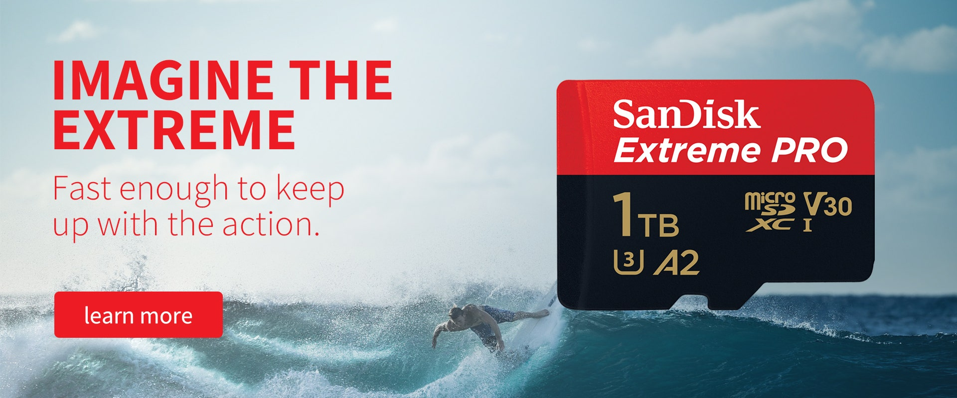 SanDisk providing the extreme solutions to your problems.